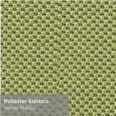 Poliéster Elástico Verde Médio