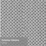 Poliéster Elástico Cinza