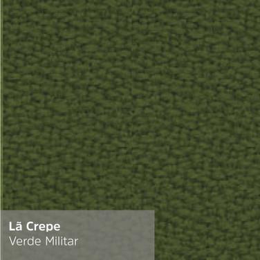 Lã Crepe Verde Militar