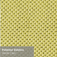 Poliéster Elástico Verde Claro
