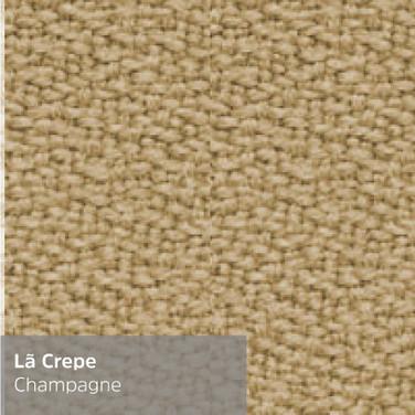 Lã Crepe Champagne