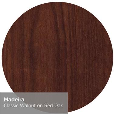 Classic Walnut on Red Oak