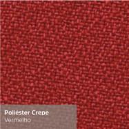 Poliéster Crepe Vermelho