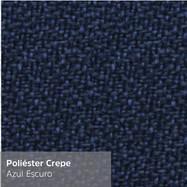 Poliéster Crepe Azul Escuro