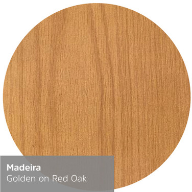 Classic Golden on Red Oak