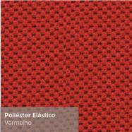Poliéster Elástico Vermelho