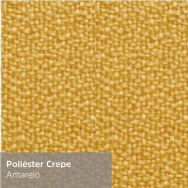 Poliéster Crepe Amarelo