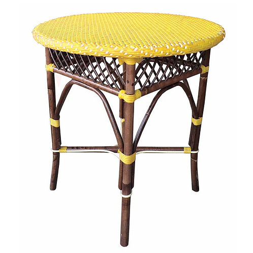 Paris Bistro Dining Table - Yellow