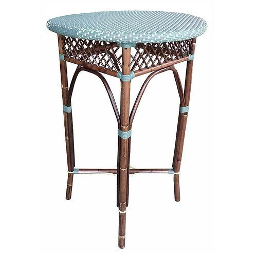 Paris Bistro Bar Table - Blue