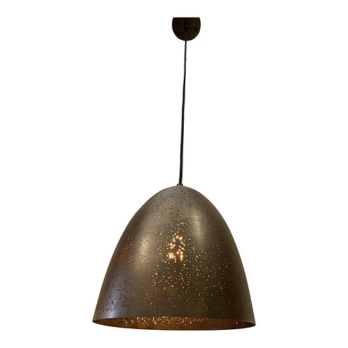 Star Struck Pendant Light in Matt Dark Gray Bronze Metal
