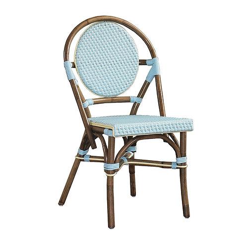 SET OF 2 - Paris Bistro Chair - Blue