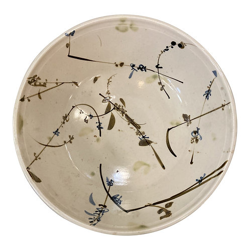 1970s Ceramic Large Art Bowl