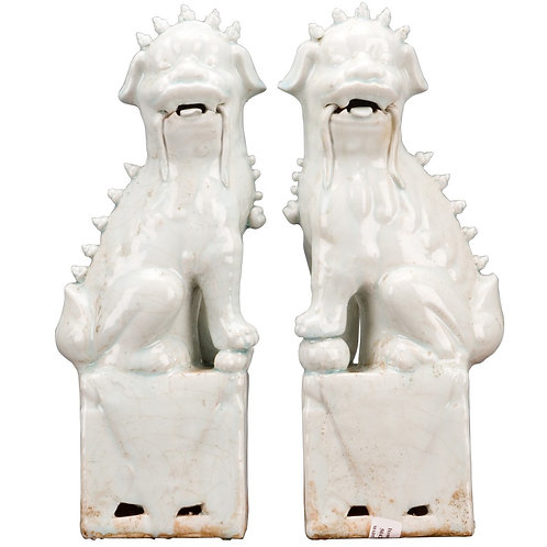 Oriental Pair Foo Dog Available it Two Color Choices