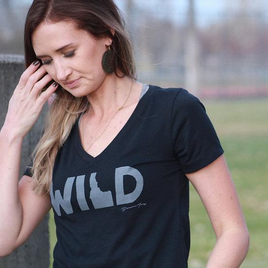 Women's Wild Idaho V-Neck
