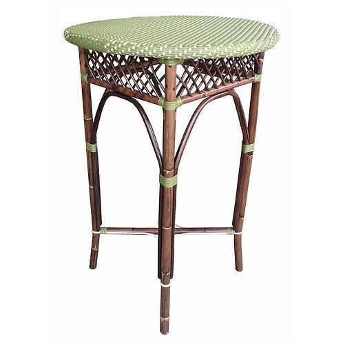 Paris Bistro Bar Table - Green