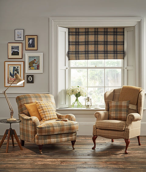 Legacy Lifestyle - Mustard Armchairs (1)