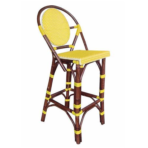 Paris Bistro Bar Stool - Yellow