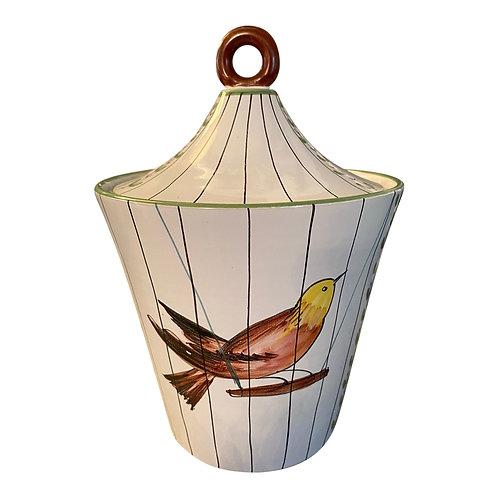 1960s Italian Bird Ice Bucket
