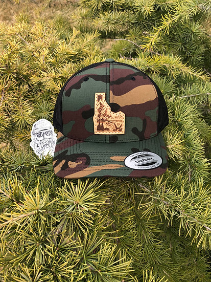 Idaho Adventure Camo Snapback (Curve Bill)