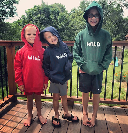 WILD Idaho Hoodie Toddler & Youth
