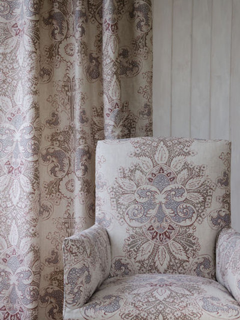 ROCOCO LINEN FABRIC AND WALLPAPER ASSORTED COLORS AVAILABLE