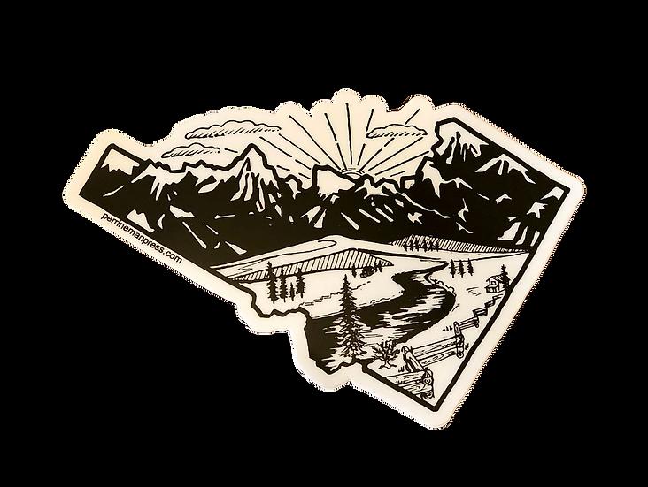 Idaho MMM Range Sticker