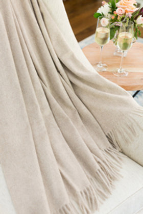 LUXE CASHMERE THROW