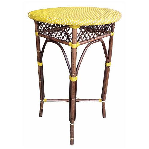 Paris Bistro Bar Table - Yellow