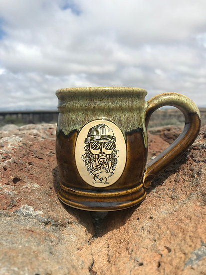 Perrine Man Hand-Made Mug