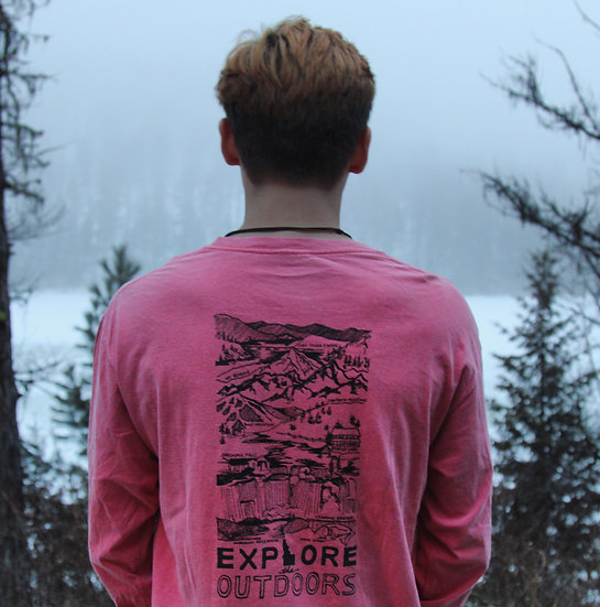 Explore the Outdoors LS Tee