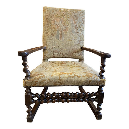 17th Century Tapestry Chair