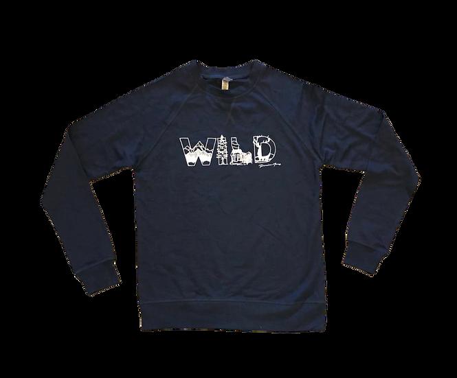WildArt LS Crew Navy Sweatshirt