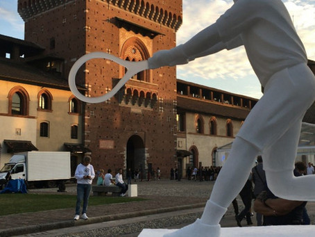 Brendan Murphy Sculpture Purchased by Giorgio Armani