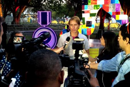 "Brendan Murphy Unveils ""NOLE XL"" in Rio During 2016 Olympics"