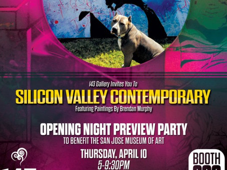 Brendan Murphy Featured at Silicon Valley Contemporary, April 10-13