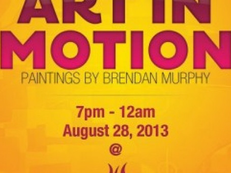 483 Gallery Presents: Art In Motion