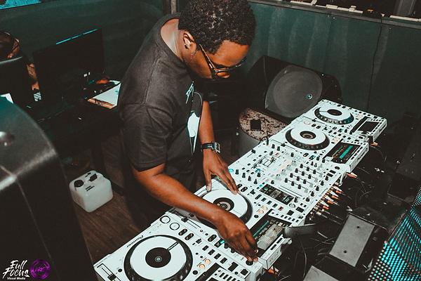 DJ Karrmyce in the Club
