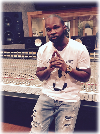 DJ Karrmyce in the Studio Producing Music