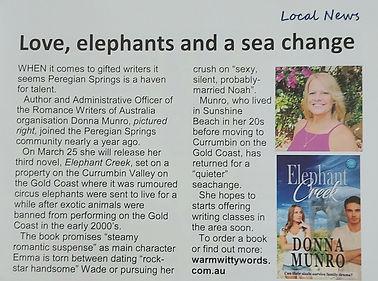 Peregian Springs News article.jpg