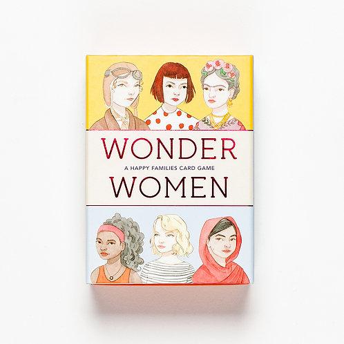 קלפי רביעיות WONDER WOMEN