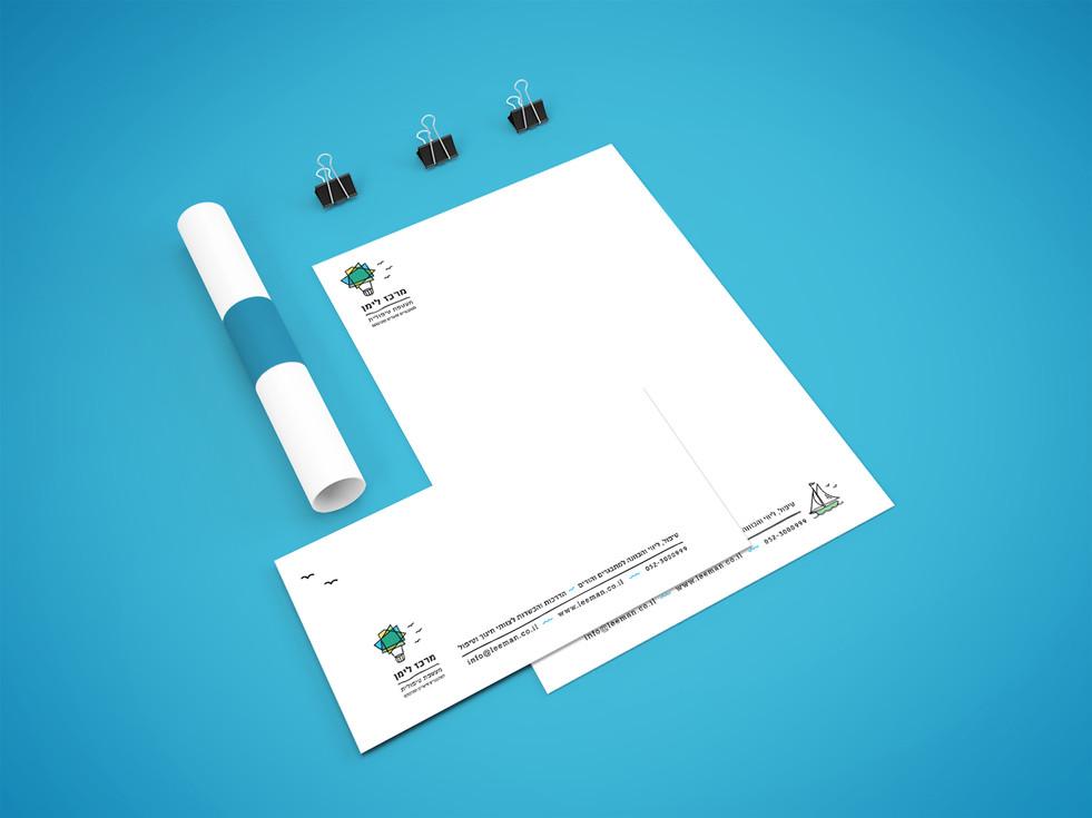 עיצוב ניירת ומעטפה