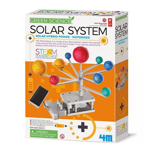 מערכת השמש סולארית היברידית