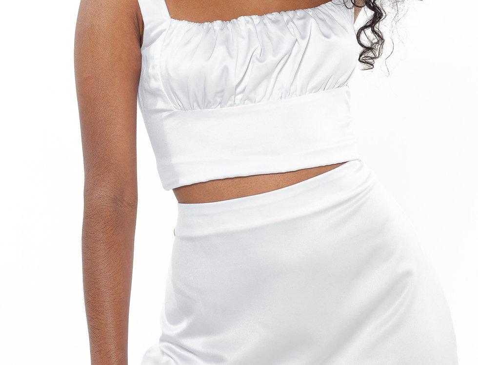 minissaia mariah off white
