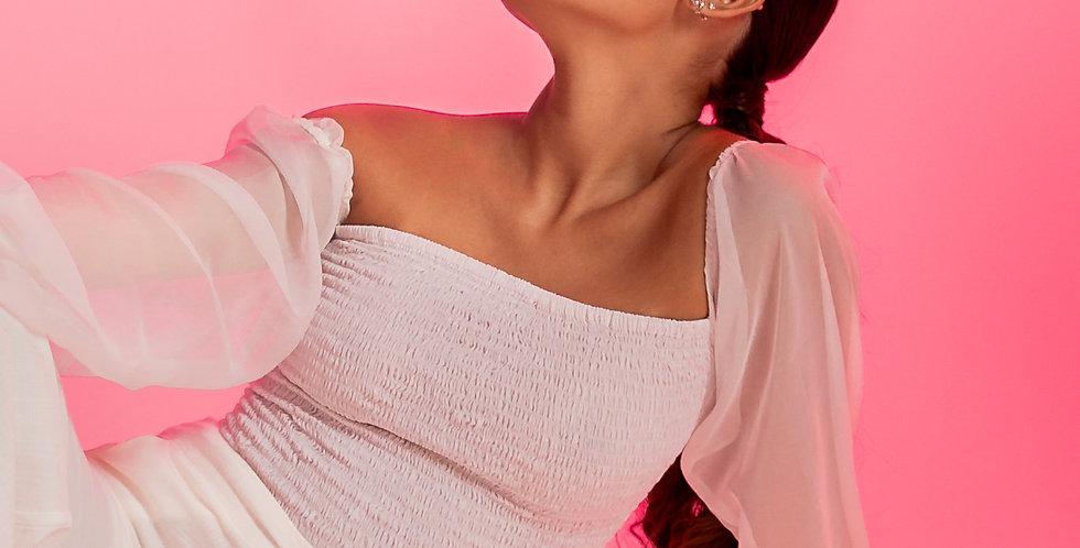 blusa marina off white