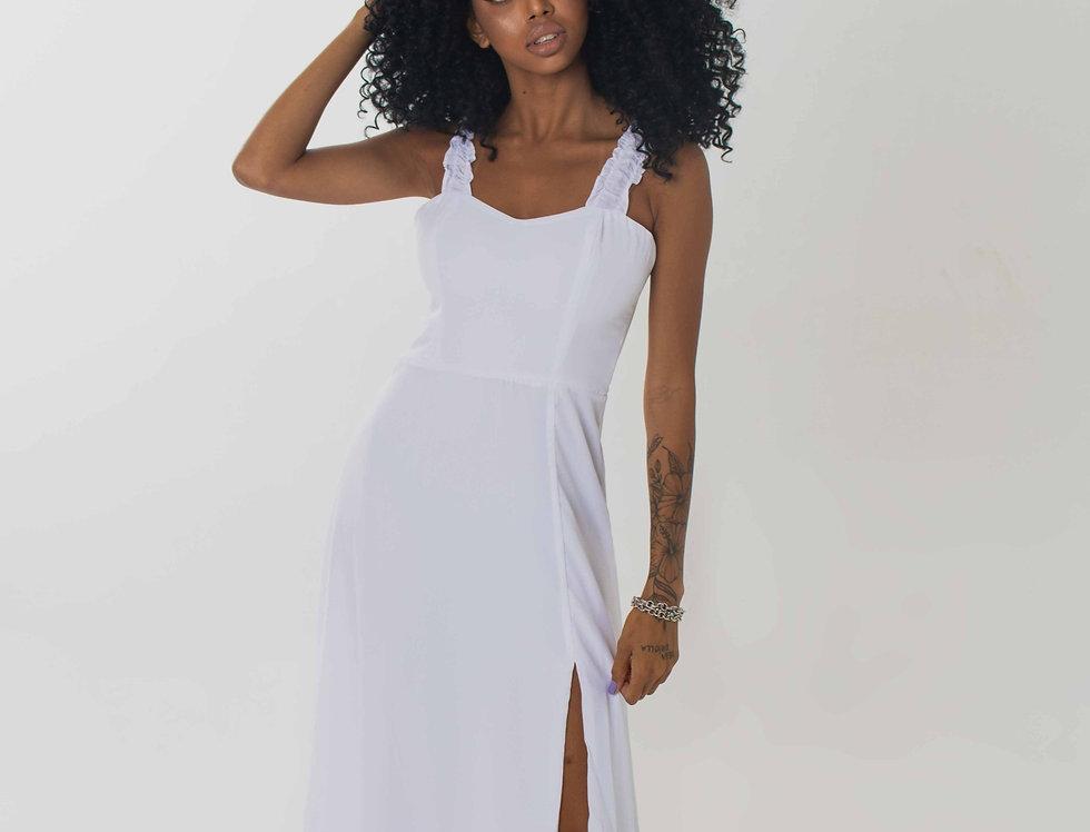 vestido verônica off white