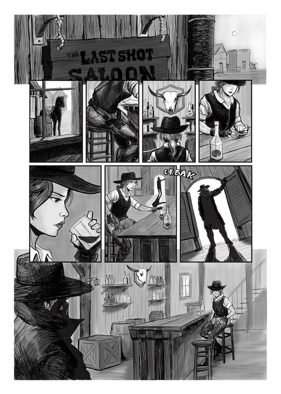 The Last Shot Saloon - Page 1