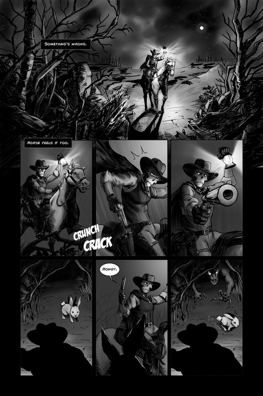 Cazadores, Issue 01, Page 01