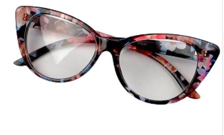 Focused Floral Cat Eye Frames