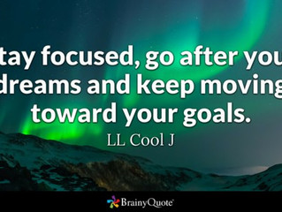 How Focused Are You? #GoalChasing