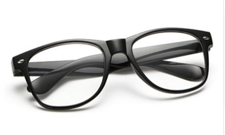 Square Black Focused Frames